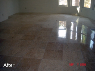 Travertine-after-service